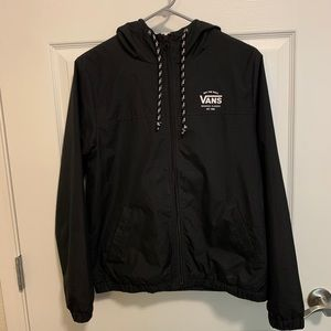 Vans windbreaker jacket